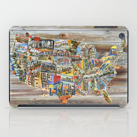 Greetings From iPad Case