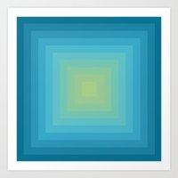 Colour Field v. 5 Art Print