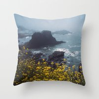 Yaquina Head Throw Pillow