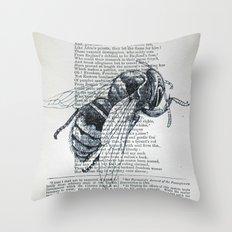 Honey, My Honeybee Throw Pillow