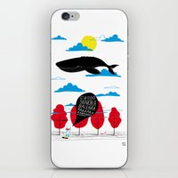 CIAO SIGNORA BALENA iPhone & iPod Skin