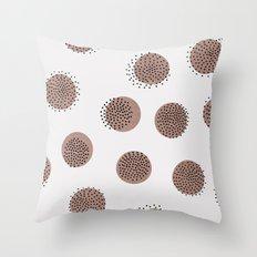 Dots Over Dots Throw Pillow