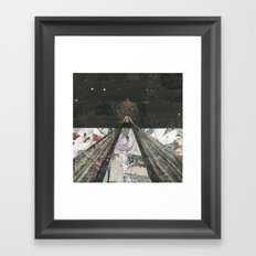 Everything I Need Is Where I'm Going Framed Art Print