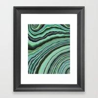 Mineralicious~Mint Tourm… Framed Art Print