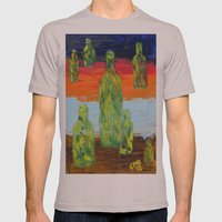 Untitled Abstract Still Life Mens Fitted Tee Cinder SMALL