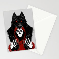 red ridin' hood Stationery Cards
