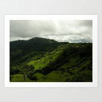 Green Hill Art Print