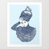 ♥ Early Winter,  Tea T… Art Print