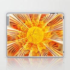 Summer Fractal Flower Laptop & iPad Skin