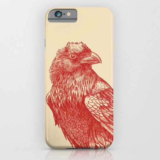 Red Raven  iPhone & iPod Case