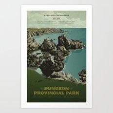 Dungeon Provincial Park Art Print