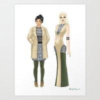 Fashion Journal: Day 16 Art Print