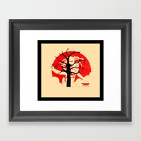 Keep Hiding Framed Art Print