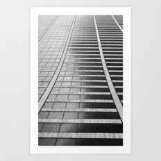 Repetition Art Print