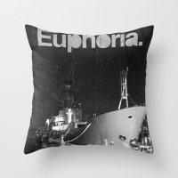 Euphoria Throw Pillow