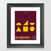 Progress Single Hop Framed Art Print
