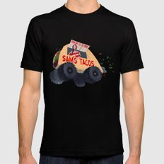 Sam's Monster Taco Truck Black Mens Fitted Tee SMALL