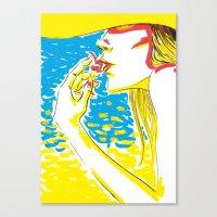 Summer Girl 2 Canvas Print