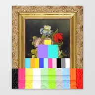Canvas Print featuring A Painting Of Flowers Wi… by Chad Wys