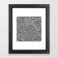 Ab Geo Geo Framed Art Print