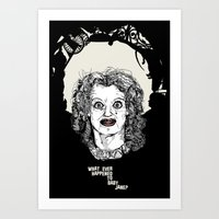 what ever happened to baby jane? Art Print