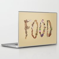 food Laptop & iPad Skins featuring FOOD by Brinny Langlois