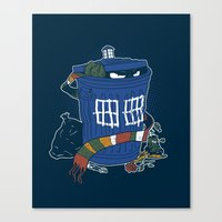 Doctor The Grouch Canvas Print
