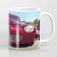 Burgundy beauty Mug
