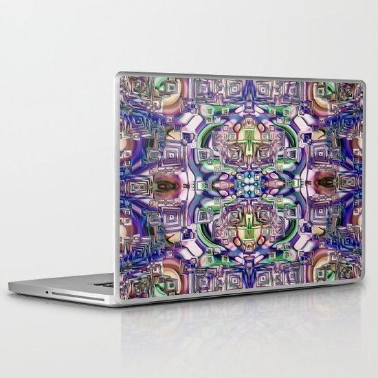 Ridged Patterns 2 C Laptop & iPad Skin