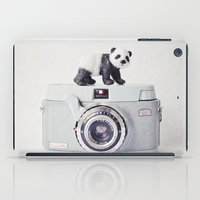 The Panda And The Ikonet… iPad Case
