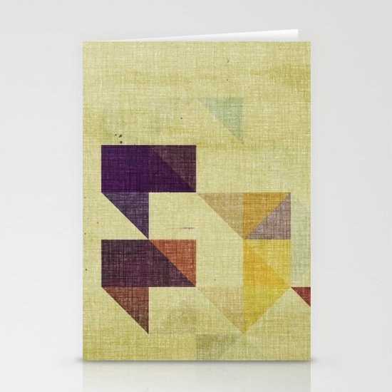 autumn trees Stationery Card