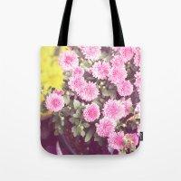 Vintage - Flower Pots Tote Bag