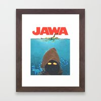 JAWA Framed Art Print
