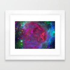 Cosmic Storm Framed Art Print