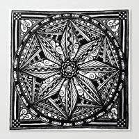 Tangled Zen Canvas Print