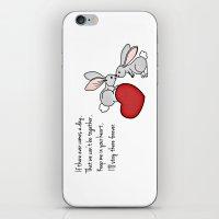 Snuggle Bunnies iPhone & iPod Skin
