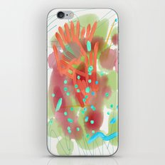 Heart to Heart Abstract Painting iPhone & iPod Skin