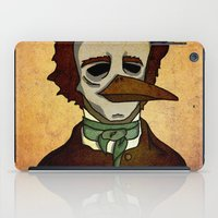 Prophets of Fiction - Edgar Allan Poe /The Raven iPad Case