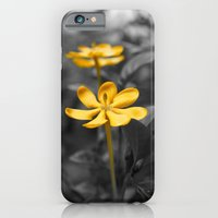 iPhone Cases featuring Yellow Gardenia by Syella