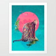 Art Print featuring Jaguar by Ali GULEC