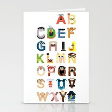 Muppet Alphabet Stationery Cards