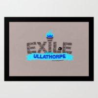Exile From Ullathorpe - … Art Print