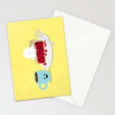 Coffee and Pie Stationery Cards