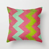 Cocktails With Lilly - P… Throw Pillow