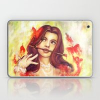 Butterfly Shout Laptop & iPad Skin
