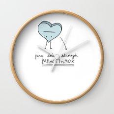 Paracetamor Wall Clock