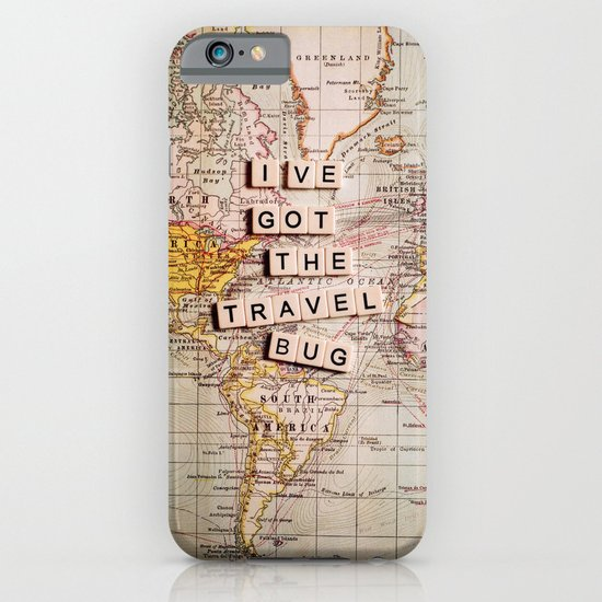 I've got the travel bug iPhone & iPod Case