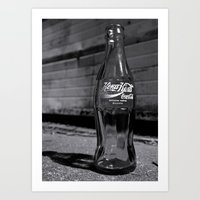 Bulgarian Coke bottle Art Print