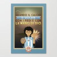 Poster Nostalgica - Mara… Canvas Print
