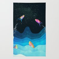 Come to reach the stars Rug